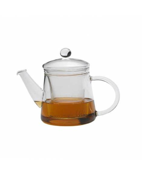borosilicate glass teapot for two persons 400 ml