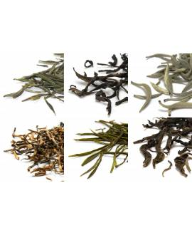 "Selection of 6 tea varieties ""Connoisseur"