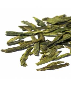 Long Jing premium loose green tea