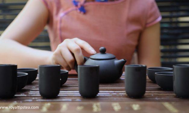 Ceremonia del té Gong Fu en China