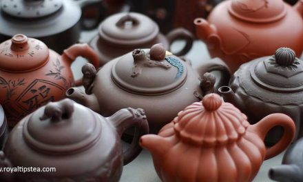 Preparar té en la tetera Yixing