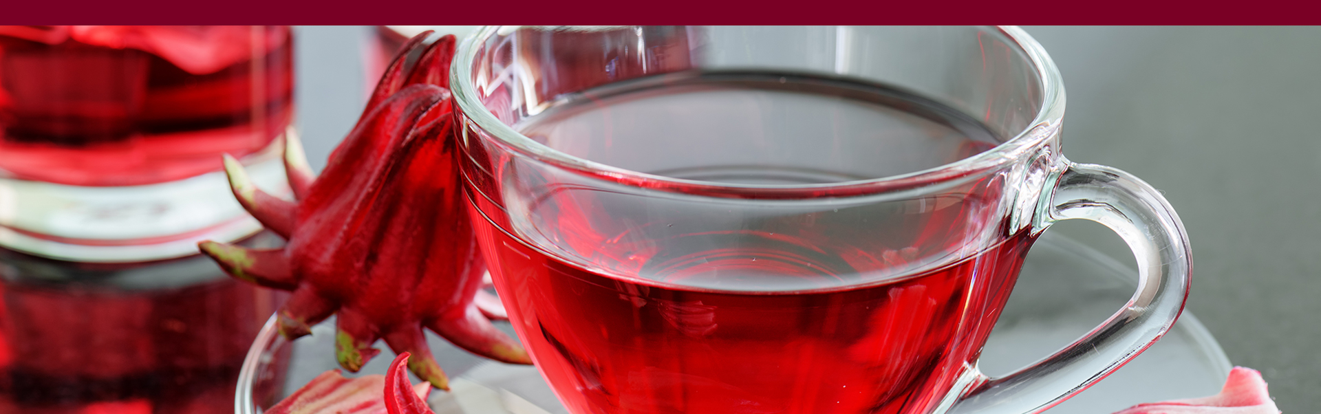 hibiscus flower herbal tea carcade