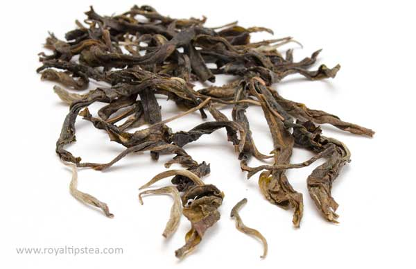 loose leaf puerh tea from ancient tea trees