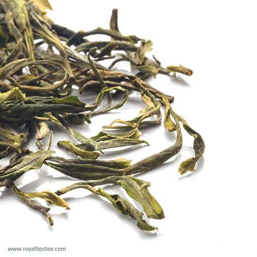 te verde chino huang shan mao feng montana amarilla