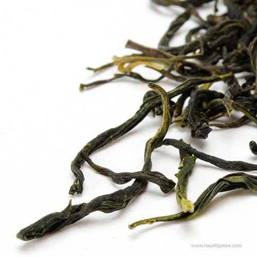 te verde chino mao jian puntas de jade